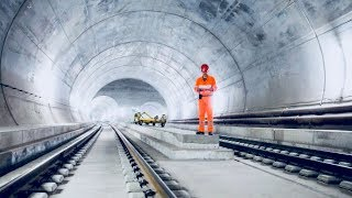 Download World's Longest Tunnel - How It Was Built - Full Documentary Video