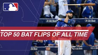 Download The Top 50 bat flips in MLB of All-Time Video