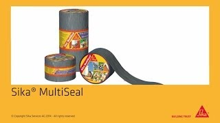 Download Sika® MultiSeal - self-adhesive sealing tape Video