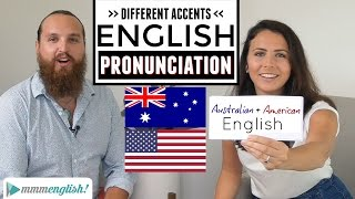 Download English Accents | American & Australian Pronunciation Differences Video