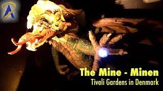 Download The Mine - Minen low-light POV at Tivoli Gardens in Copenhagen, Denmark Video