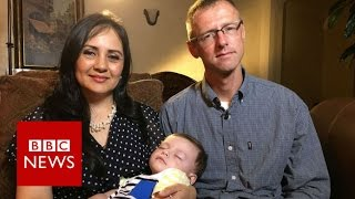 Download Baby accidentally given to wrong couple reunited with real parents - BBC News Video