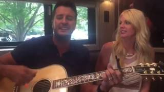 Download Luke Bryan DID crash my party!!!! Video