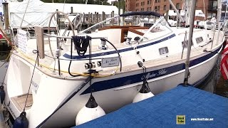 Download 2017 Hallberg Rassy 372 Sailing Yacht - Deck and Interior Walkaround - 2016 Annapolis Sailboat Show Video