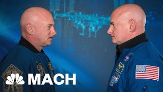 Download Astronaut Scott Kelly's DNA Changed After A Year In Space Mach | NBC News Video