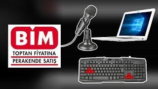 Download BİM'de 97 TL'ye Satılacak Oyuncu Ekipmanlarını Önden Aldık! ( Ucuz LapTop Vardı Onu da aldık! ) Video