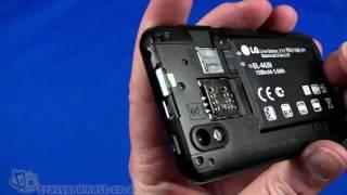 Download LG Optimus Black unboxing video Video