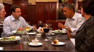Download Dinner with Barack: Two Teachers, an Army Veteran, a Small Business Owner, and The President Video