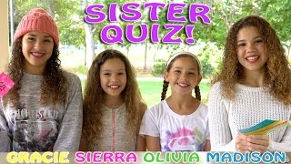 Download The Sister Quiz! (Haschak Sisters) Video
