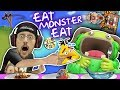 Download Wrecking Box Forts & FEEDING MY MONSTER ANGRY BIRDS!?! FGTEEV Boyyy!! Video