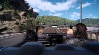 Download Driving Gameplay Video - FINAL FANTASY XV Video