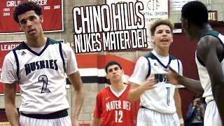 Download PRIME CHINO HILLS DESTROYS MATER DEI! Lonzo Ball QUADRUPLE DOUBLE?! Worst MD Loss OF ALL TIME! Video