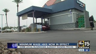Download Arizonans already feeling effects of minimum wage hike Video