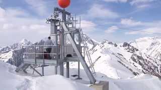 Download Doppelmayr ABR Lawinensprengbahn ″Gorner″ Kals-Matrei, Österreich (2008) Video