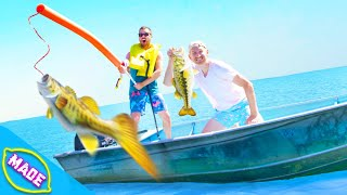 Download We Built DIY Fishing Rods With Bobby from Team Edge!! Video