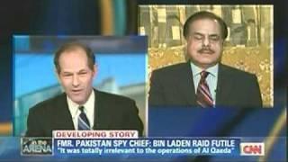 Download Fmr Pakistani Intel Chief Hamid Gul On CNN: Bin Ladin Died Years Ago Video