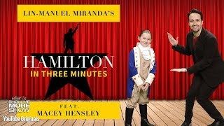 Download Lin-Manuel Miranda Performs 'Hamilton' in Under 3 Minutes Video