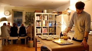 Download The secret to throwing a dinner party Video