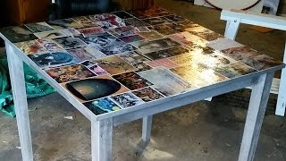 Download D.I.Y Decoupage Dining Table Video