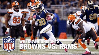 Download Browns vs. Rams | Week 7 Highlights | NFL Video