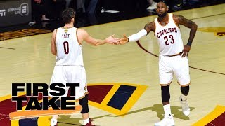 Download Stephen A. Smith reacts to LeBron James telling Kevin Love about position change | First Take | ESPN Video