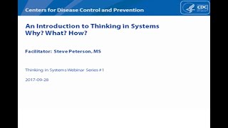 Download An Introduction to Thinking in Systems Video
