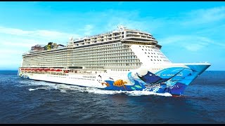 Download Norwegian Escape TOUR & cruise ship REVIEW decks and cabins - ReiseWorld travel channel Video