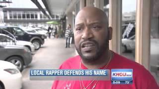 Download Houston-based rapper Slim Thug defends his name Video