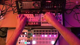 Download I tried making synthwave: Korg Volcas + Beatstep Pro Video