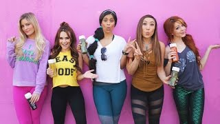 Download Disney Princesses Try Working Out... (ft. Lindsey Stirling, Lilly Singh, Rosanna Pansino, iJustine) Video