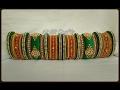 Download Latest handmade thread bangles Bridal silk thread bangles Video
