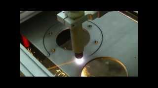 Download Portabler CNC Plasmabrenner Brennschneider mit Hypertherm Plasmaschneider ab 6900 Euro Video