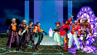 Download Kof Mugen ¡Soldados NESTS VS Orochi Team! Video