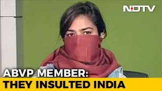 Download Standing For India's Unity Makes Me A Goon, Asks 'Molested' ABVP Member Video