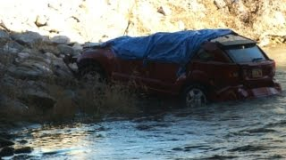 Download Baby trapped, found alive 14 hours after car crash Video