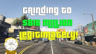 Download GTA Online Grinding To $816 Million Legitimately And Helping Subs Video