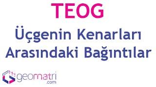 Download 8. Sınıf Üçgenler ► Üçgenin Kenarları Arasındaki Bağıntılar TEOG - Konu Anlatımı ve Soru Çözümleri Video