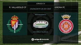 Download Calentamiento R. Valladolid Cf vs Girona FC Video