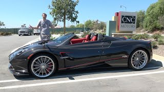 Download The Pagani Huayra Roadster Is an Insane $3 Million Supercar Video