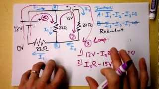 Download Kirchhoff's Rules (Laws) Worked Example | Doc Physics Video