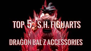 Download Top 5 S.H. Figuarts Dragon Ball Z Accessories (Came with Figures) Video
