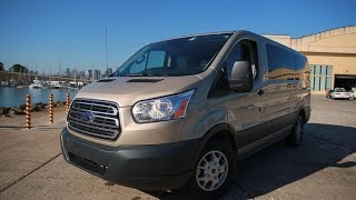 Download Car Tech - 2015 Ford Transit 150 XLT commercial van has a nice tech layout Video