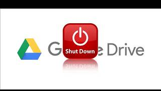 Download Google Drive shutdown replace by Drive File Stream on March 2018 Video