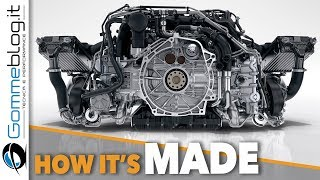 Download Porsche 911 Engine PRODUCTION - CAR FACTORY Assembly 2018 Video