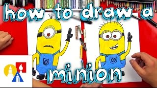 Download How To Draw A Minion Video