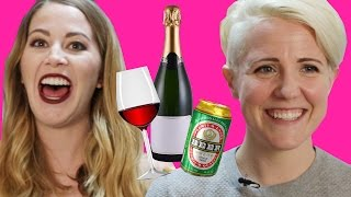 Download Cheap Alcohol Pairing Game w/ Hannah Hart// Ladies' Room Deleted Scene Video