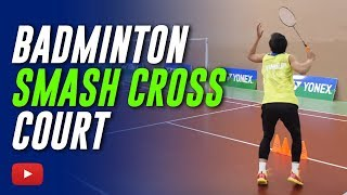 Download Badminton Smash Cross Court and follow to Finish - Coach Kowi Chandra Video