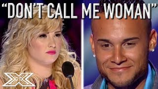 Download Latin Ice Cream Man Jorge Pena Insults ANGRY Demi Lovato! | X Factor Global Video