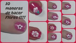 Download 10 formas de hacer flores en las uñas !!!! Video