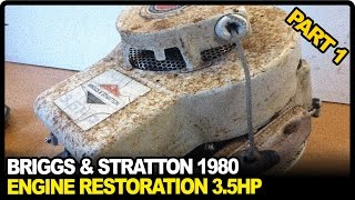 Download Briggs and Stratton Engine Repair 3.5HP 1980 | PART 1 Video